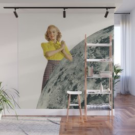He Gave Her The Moon Wall Mural