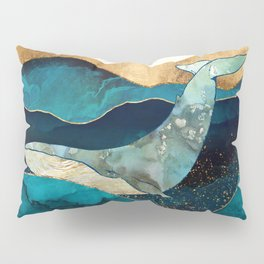 Blue Whale Pillow Sham