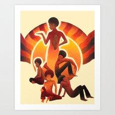 The Family Art Print