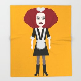 Rocky horror picture show 2 Throw Blanket