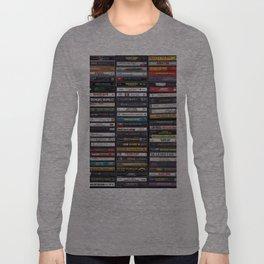 Old 80's & 90's Hip Hop Tapes Langarmshirt