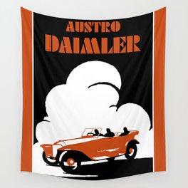 Austro-Daimler classic car Wall Tapestry