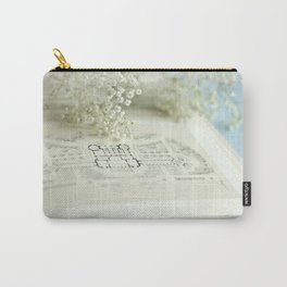 Book and Botanical - Still Life Carry-All Pouch