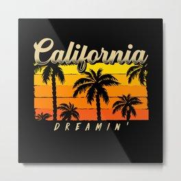 California Dreamin Metal Print