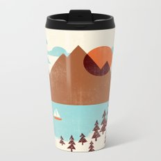 Indian Summer Metal Travel Mug