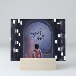 Fake Love, Taehyung Mini Art Print