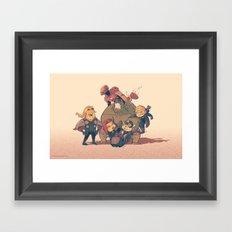 Avengers Assemble Framed Art Print