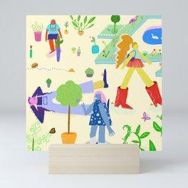 Plant Party Mini Art Print