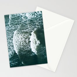 Wavy Waves on a stormy day Stationery Cards