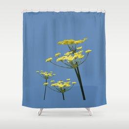 Fennel flowers Shower Curtain