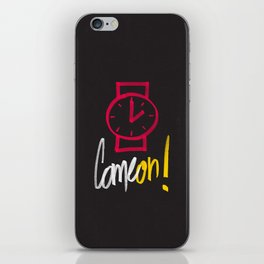 Come on ! iPhone Skin