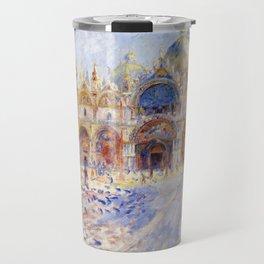 Renoir - The Piazza San Marco, Venice Travel Mug