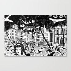 paranoia Canvas Print