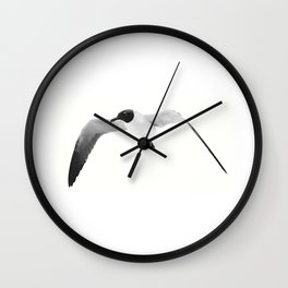 Black Headed Gull By Saribelle Rodriguez Wall Clock