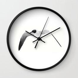 Black Headed Gull By Saribelle Rodriguez Wall Clock