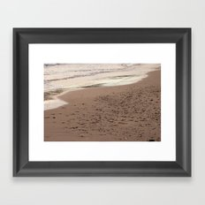 Beach Sand 7136 Framed Art Print