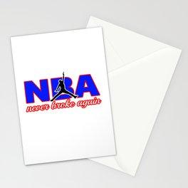 never broke again shirt Stationery Cards