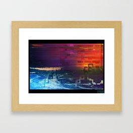 Silk Waters Framed Art Print