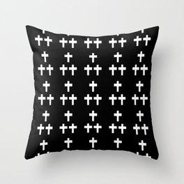 Christian Cross 1 Throw Pillow