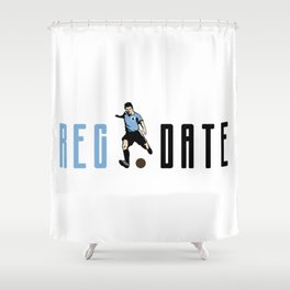 Reg Date Shower Curtain