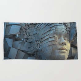 Dissolution of Ego Beach Towel