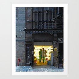 NYC - Museum, Cortlandt Alley Art Print
