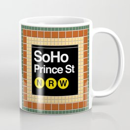 subway soho sign Coffee Mug