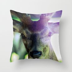 look at me. Throw Pillow