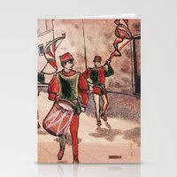 drum Stationery Cards featuring Drum by Sarah Larguier