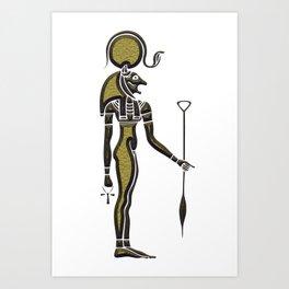 Bastet - Goddess of ancient Egypt Art Print