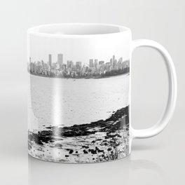 Vancouver Skyline on a Grey Day Coffee Mug