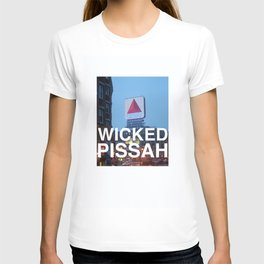 Wicked Pissah - Boston Photo T-shirt