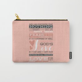 Nothing Can Separate Us From God's Love Carry-All Pouch