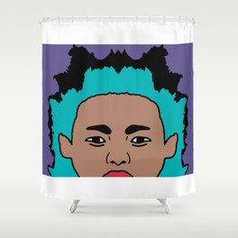 the Young Lefty Shower Curtain