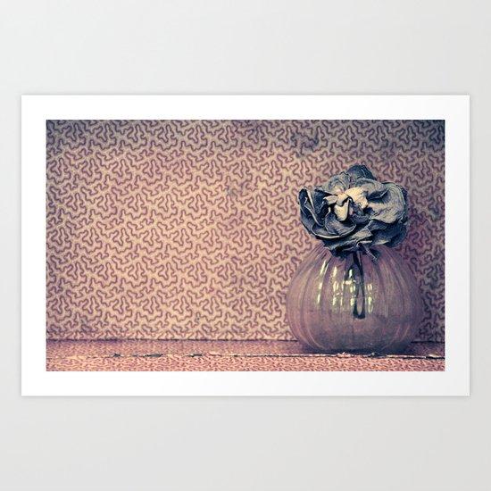 moi melancólico Art Print