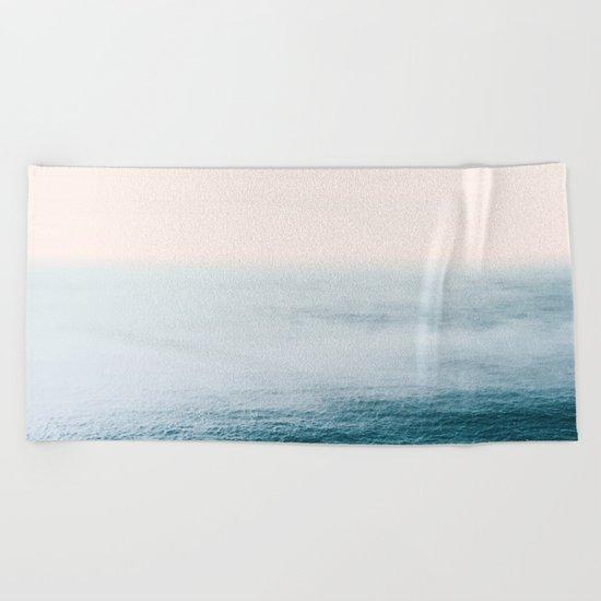 Ocean Fog Beach Towel