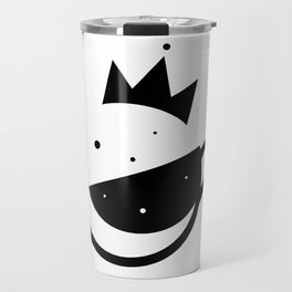 Self-Care Queen - Black Travel Mug