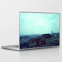 brussels Laptop & iPad Skins featuring Brussels by Liselotte Verhagen