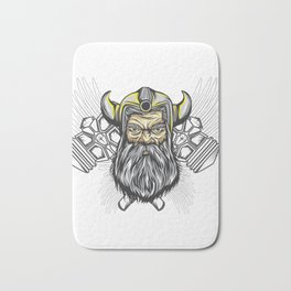 Looking For An Ancient Rome T-shirt Design? Here's A Strong Brave Barbarian T-shirt Design Hammer Bath Mat