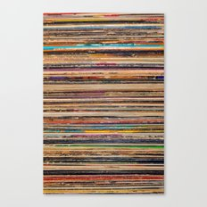 Vinyl Canvas Print