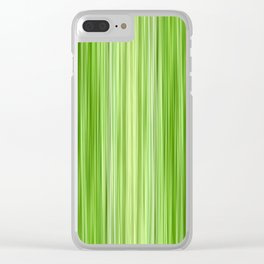 Green 3 Clear iPhone Case