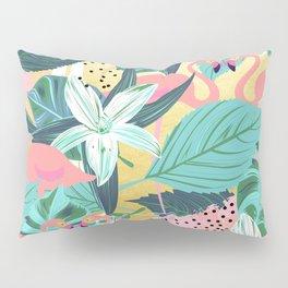Flamingo Tropical #society6 #decor #buyart Pillow Sham