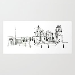 Cathedral, Malta Art Print
