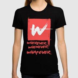 sulle viti T-shirt