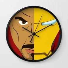Iron Stark Wall Clock