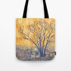 Silverbirch, north of Queen Tote Bag