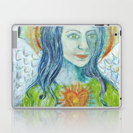 Fierce Heart (Love and Light) Laptop & iPad Skin
