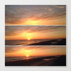 Sunset Memories Canvas Print