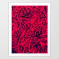 Floral tribute [rose] Art Print