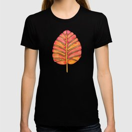Elephant Ear Alocasia – Peach Palette T-shirt